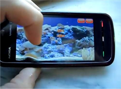 nokia-5800-marine-aquarium
