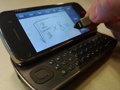 nokia-handwriting-calculator
