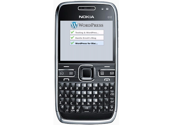 Nokia-Symbian-Maemo-WordPress
