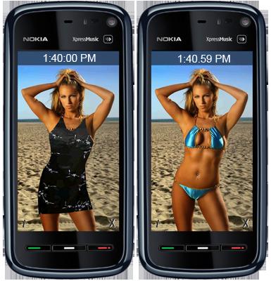 bikini-clock-symbian