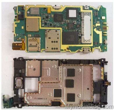 Nokia N8 demontaż