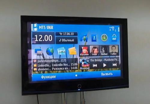 Nokia N8 LCD TV