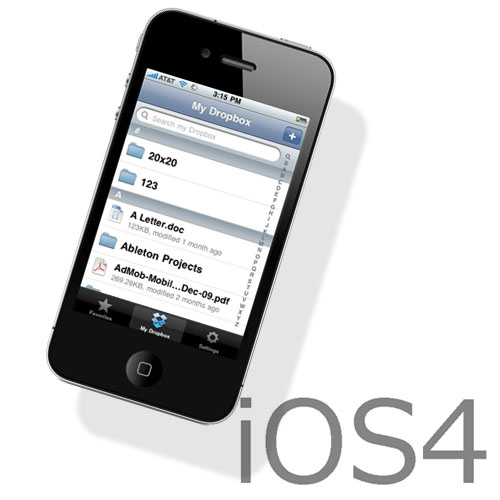 iOS4 for iPhone