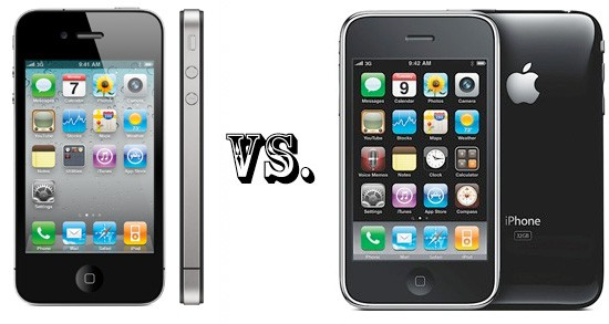 iphone 4 vs 3gs