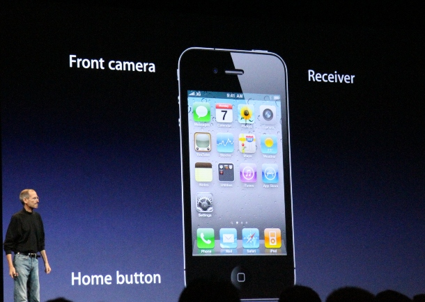 new iPhone 4 - wwdc 2010