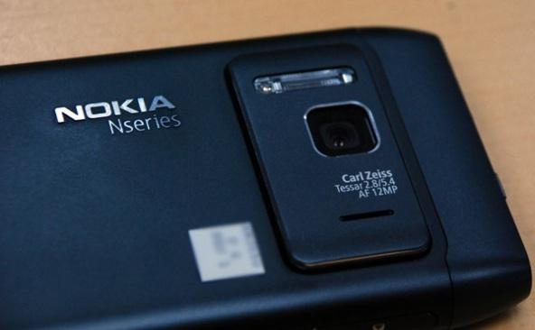 Nokia N8 aparat