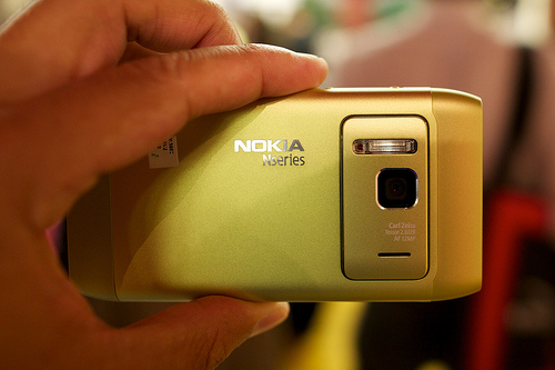 Nokia N8 video record