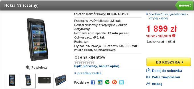 Nokia N8 RTV Euro AGD