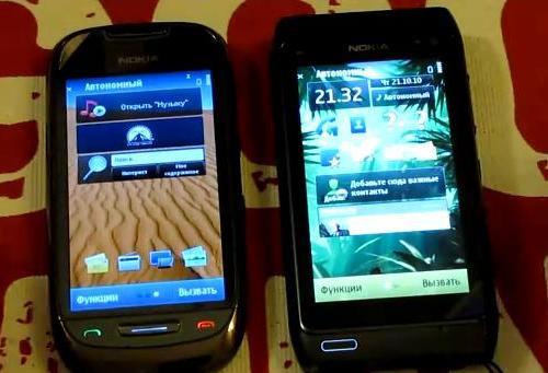 Nokia N8 vs Nokia C7