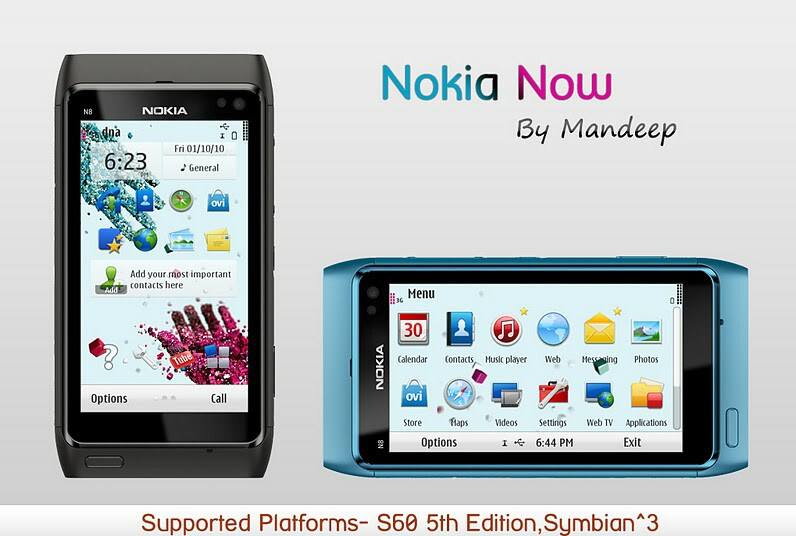Nokia C7 motywy