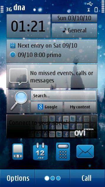 darmowe motywy Symbian^3
