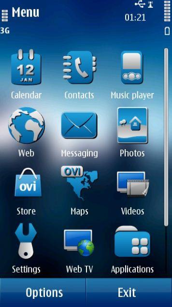 Nokia N8 motywy