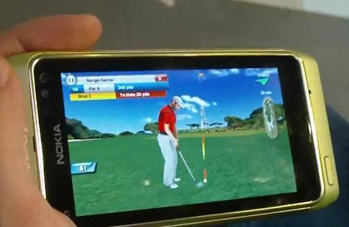 Real Golf 2011 Nokia N8