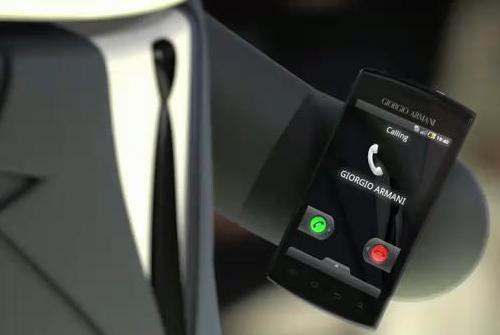 Armani Samsung Galaxy S
