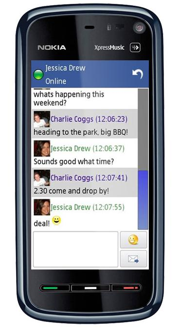 Mobile Facebook Chat