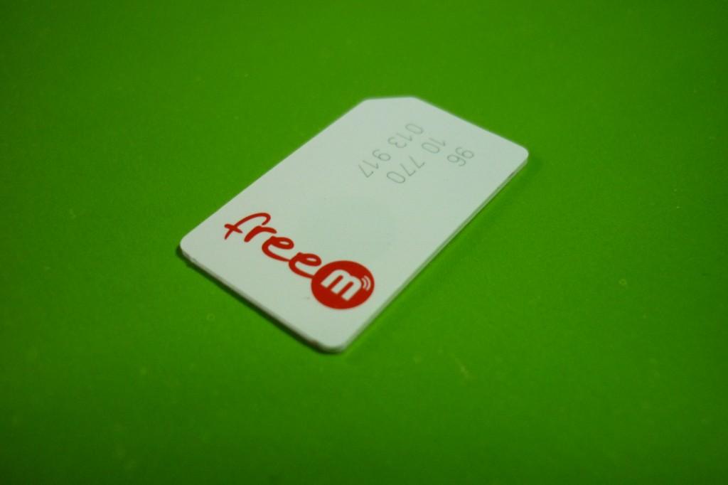 karta SIM FreeM
