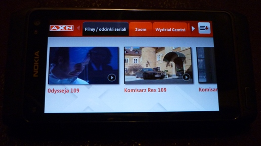 AXN Player - Nokia N8