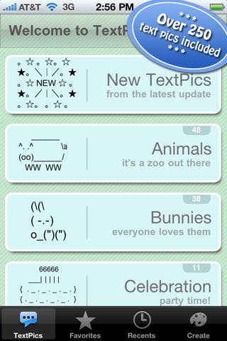 TextPics iPhone