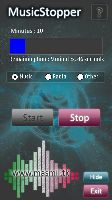 Music Stopper aplikacje