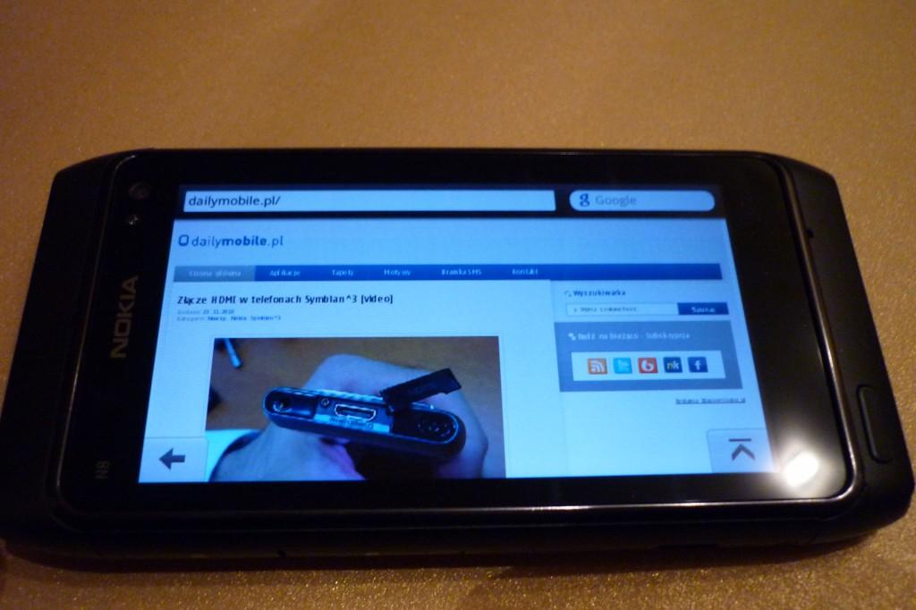 Nokia N8 opera mobile