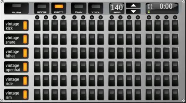 Nokia app Drum Machine
