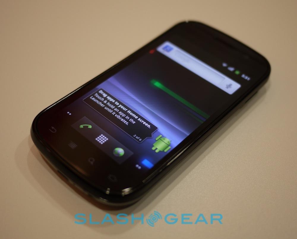 Nexus S live