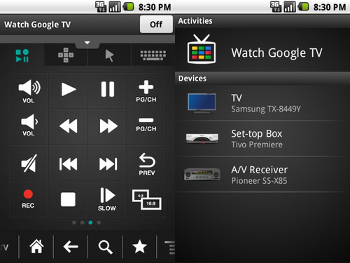 Google TV Remote app
