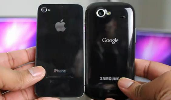Nexus S vs iPhone 4