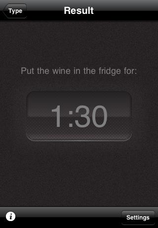 iphone app serve wine