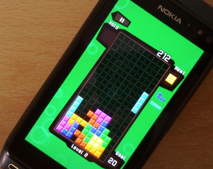 Tetris HD Nokia N8