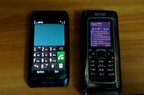 Nokia E7 vs Nokia E90