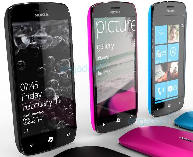 Nokia Windows Phone 7 concept phone