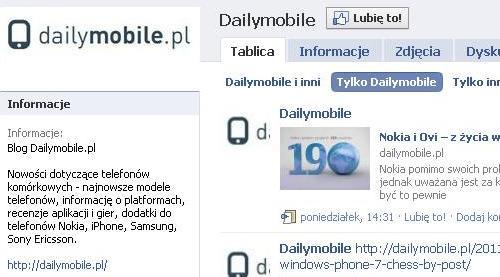 dailymobile Facebook