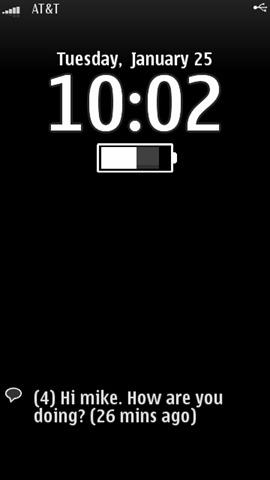 Lock Screen Nokia