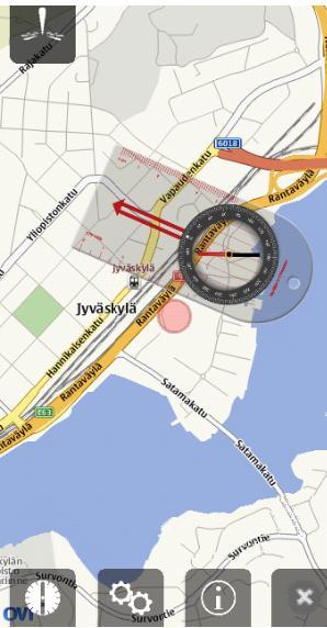 Compass Symbian^3 aplikacje