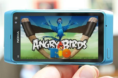 Nokia N8 Angry Birds Rio
