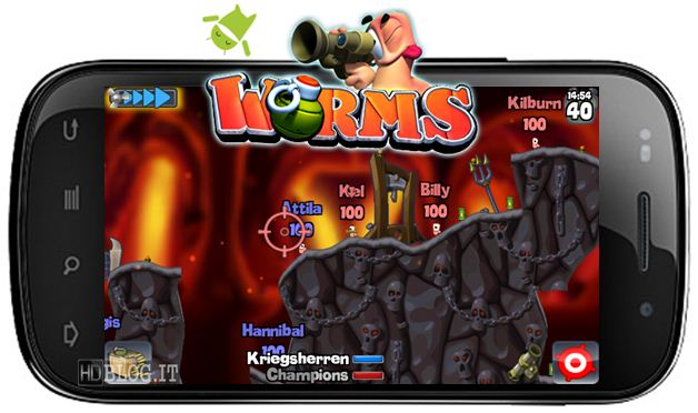 Worms Android version
