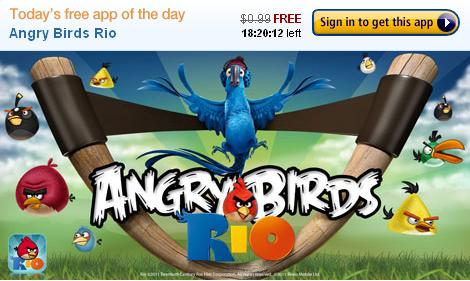 angry birds rio amazon appstore Gry Android: Angry Birds Rio – dziś ...