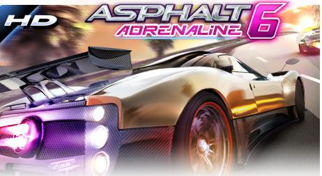 Asphalt 6 Adrenaline [ ENG ] [ .apk + sdfiles ] [ ANDROID ]