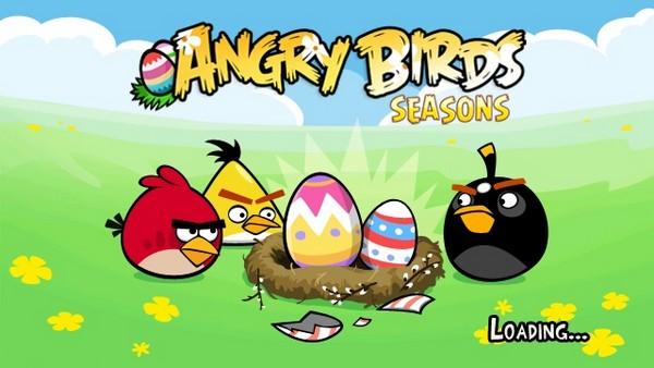 Angry Birds Sasons Easter Eggs
