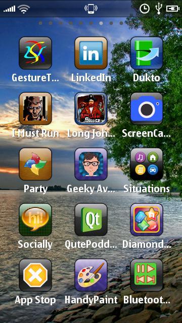 Voyager Home Screen aplikacja