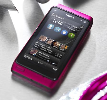 Nokia N8 pink colour