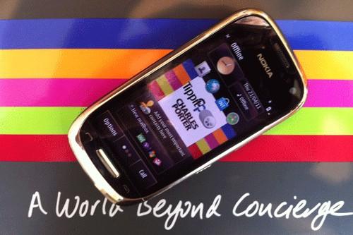 Nokia Oro C7 gold