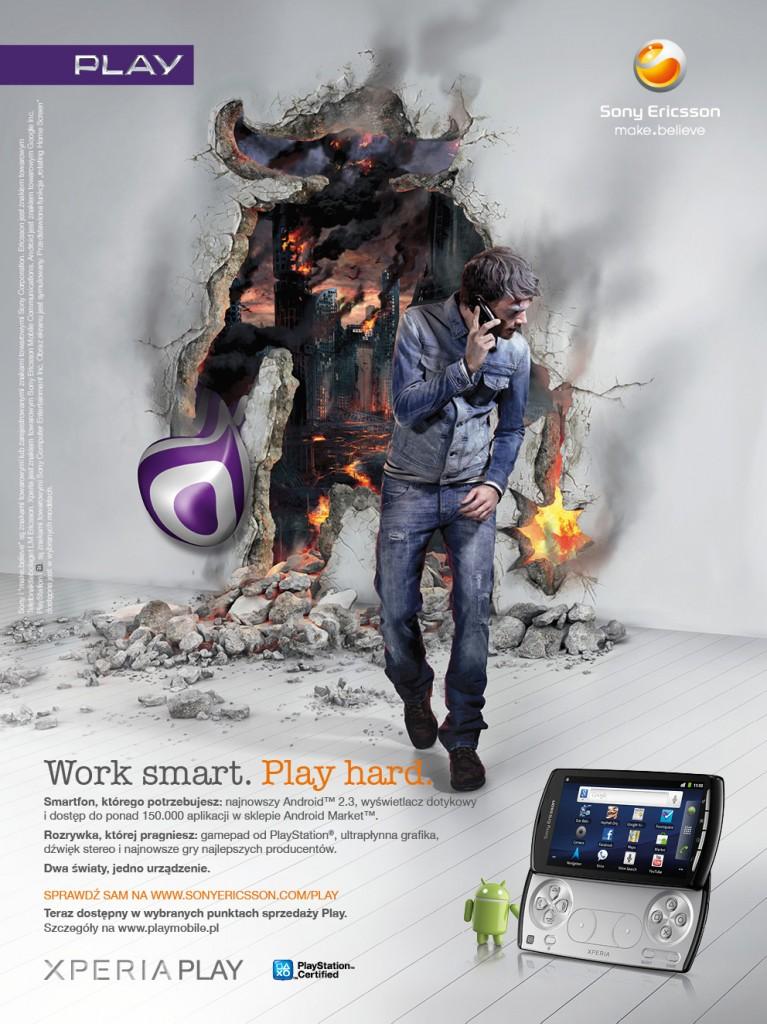 Sony Ericsson Xperia Play Mens Health