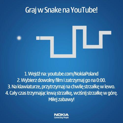 Snake YouTube Nokia