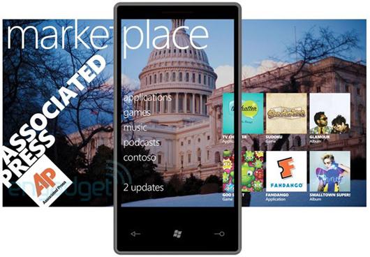 Winodws Phone Marketplace