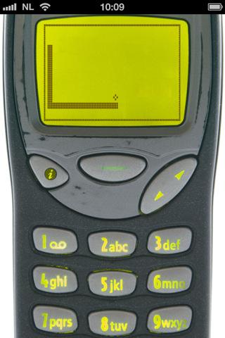 Snake iPhone app