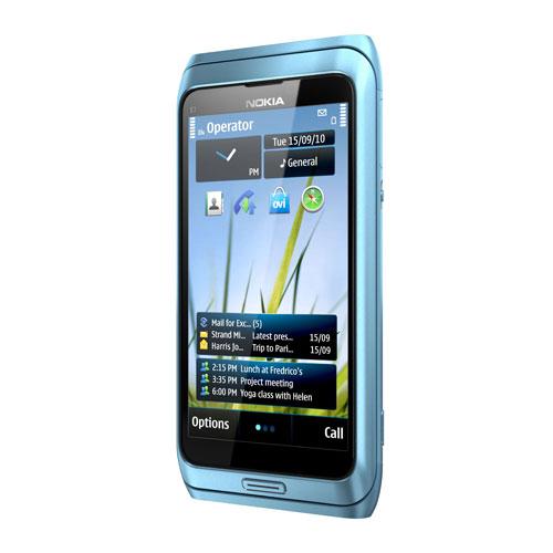 Nokia E7 Blue