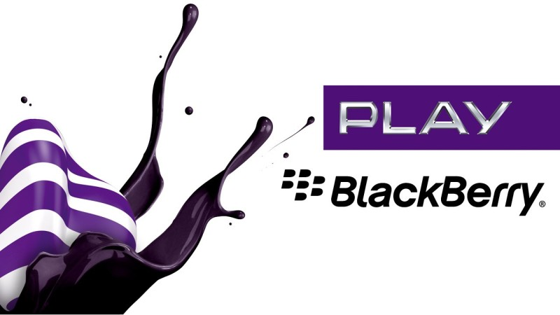 Play BlackBerry promo