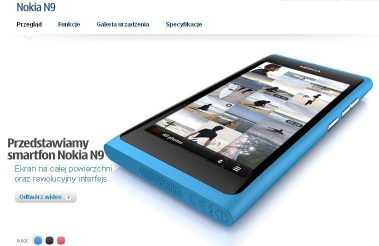 Nokia N9 Nokia Polska